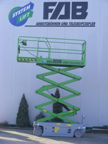 Systemlift FAB-Arbeitsbühne 9,80m AH / E