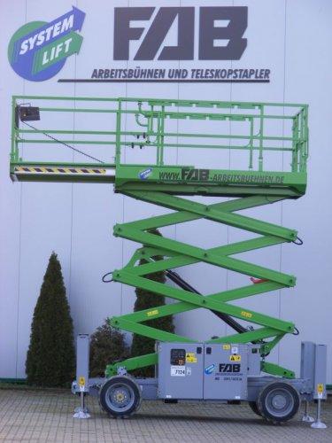 SL - Scheren-Arbeitsbühne 10,28 m AH D/A