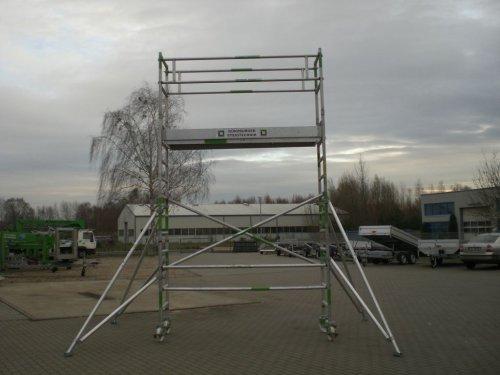 Rollgerüst 2,45 x 0,75 m