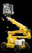 12 meter zelfrijdende hoogwerker