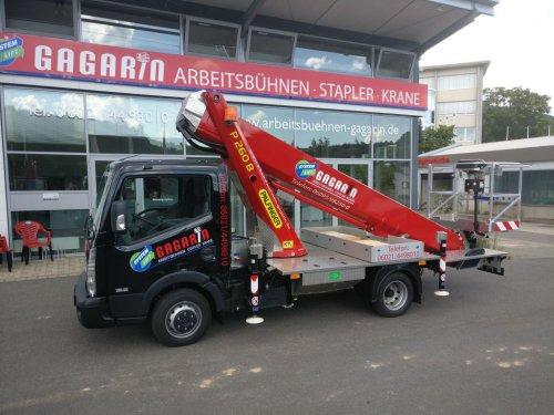3,5 to LKW-Arbeitsbühne 26m Arbeitshöhe