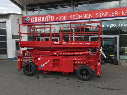 Diesel Scherenarbeitsbühne 4x4 15m Arbeitshöhe