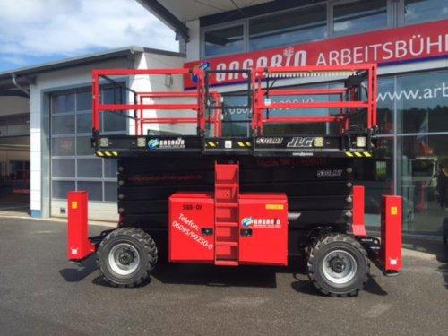 Diesel Scherenarbeitsbühne 4x4 18m Arbeitshöhe