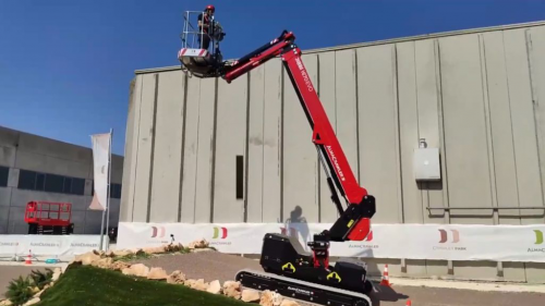 Ketten Teleskoparbeitsbühnen 16m Arbeitshöhe